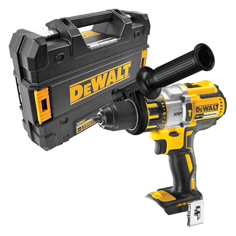 DEWALT Perceuse-Visseuse à Percussion DEWALT DCD996NT FR XR Li-ion 18 V + T-Stak (machine nue)