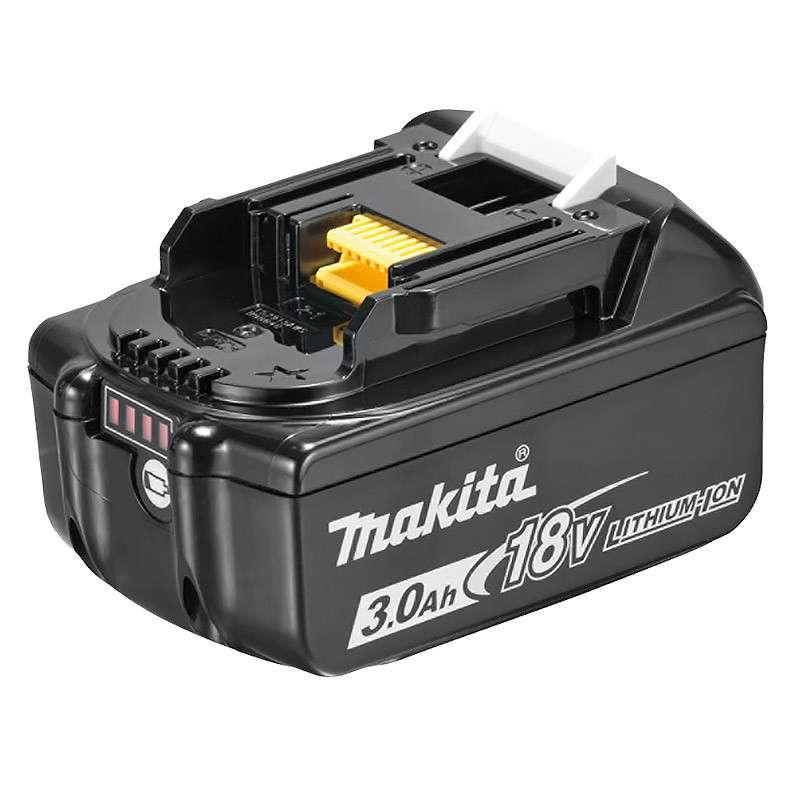 MAKITA Batterie MAKITA BL1830B Li-Ion 18V 3,0 Ah avec témoin de charge