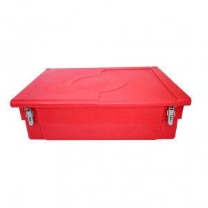 Plast'Up Bacs à sable ou sel plast'up, avec grenouillères, cadenas et pelle - 100 à 300 l 300 l