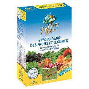 CP Jardin Insecticide vers des fruits et légumes cp jardin, boite 20 g