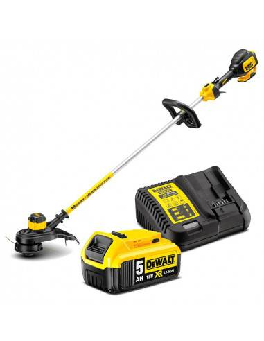 Dewalt Coupe-bordures XR 18V 5Ah Li-Ion Brushless 33cm - 1 batterie - DCM561P1 - Dewalt