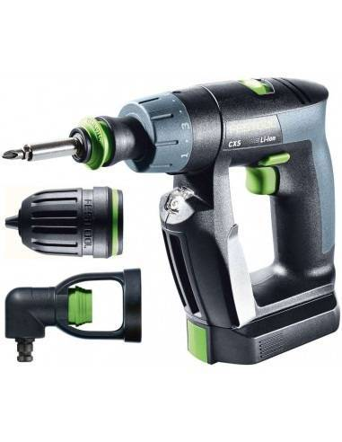 Festool Perceuse-visseuse sans fil CXS Li 2,6-Set - Festool
