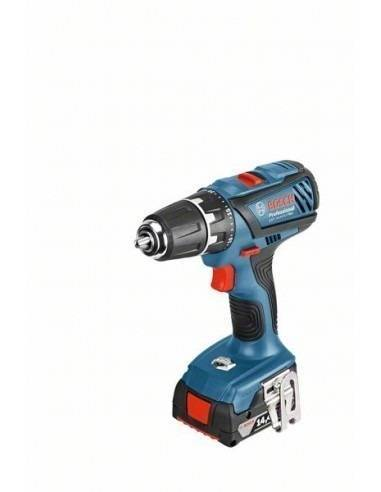 Bosch Perceuse-visseuse sans-fil GSR 14,4-2-LI Plus, 2 batteries 2,0 Ah, L-BOXX - Bosch