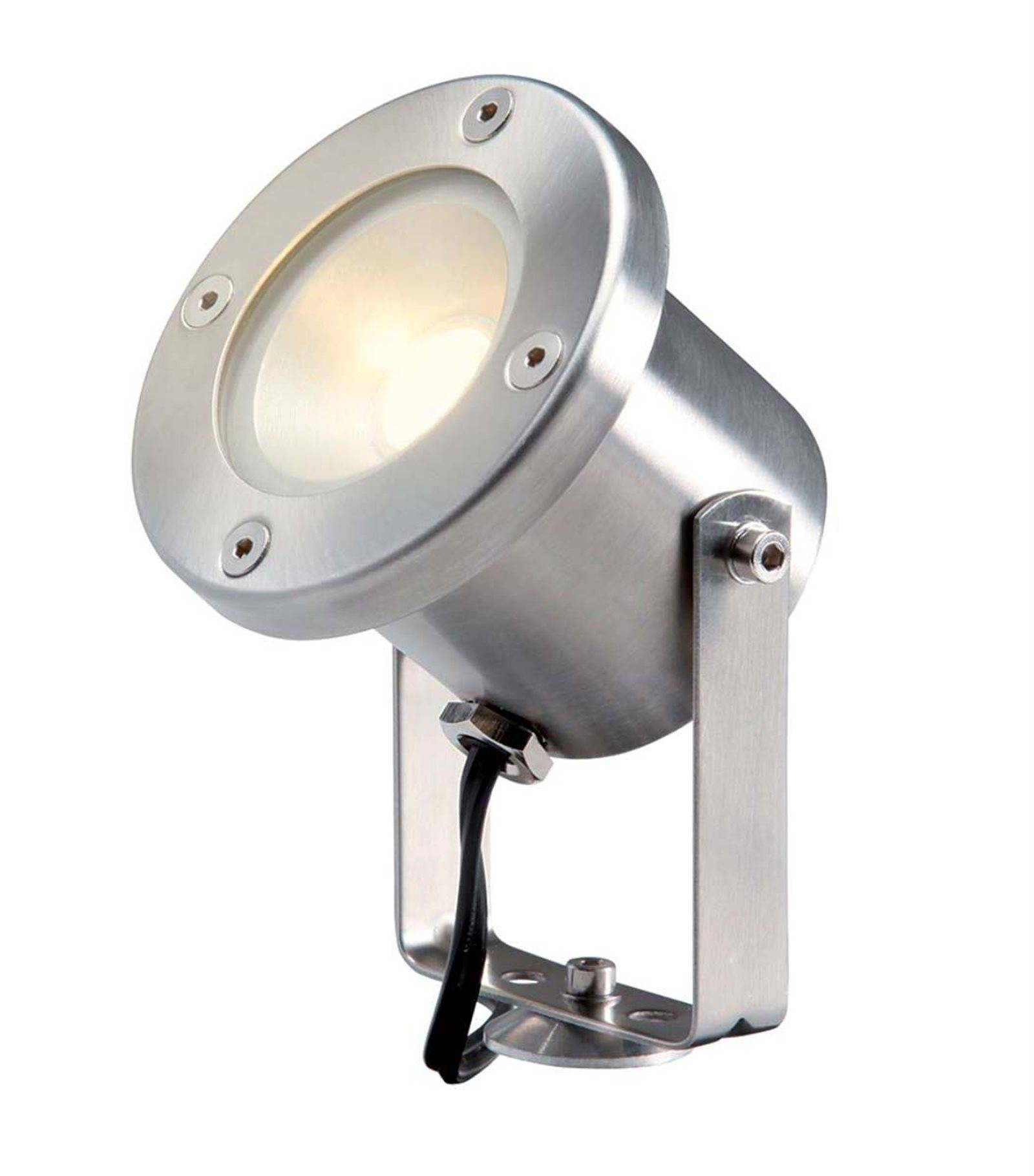 Garden Lights Spot projecteur à piquer ou visser CATALPA 3W GU5.3 MR16 IP44 Blanc Chaud Orientable éxterieur Garden lights ampoule fourni