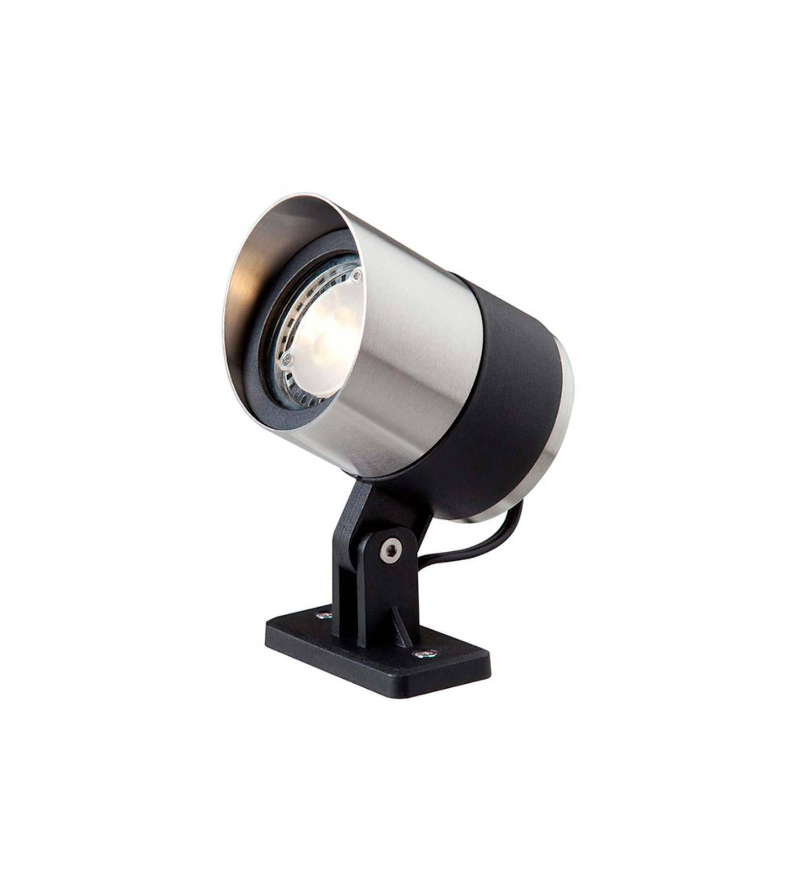 Garden Lights Spot projecteur à piquer ou visser ATLAS 3W GU5.3 MR16 IP44 Blanc Chaud Orientable éxterieur Garden lights ampoule fournie
