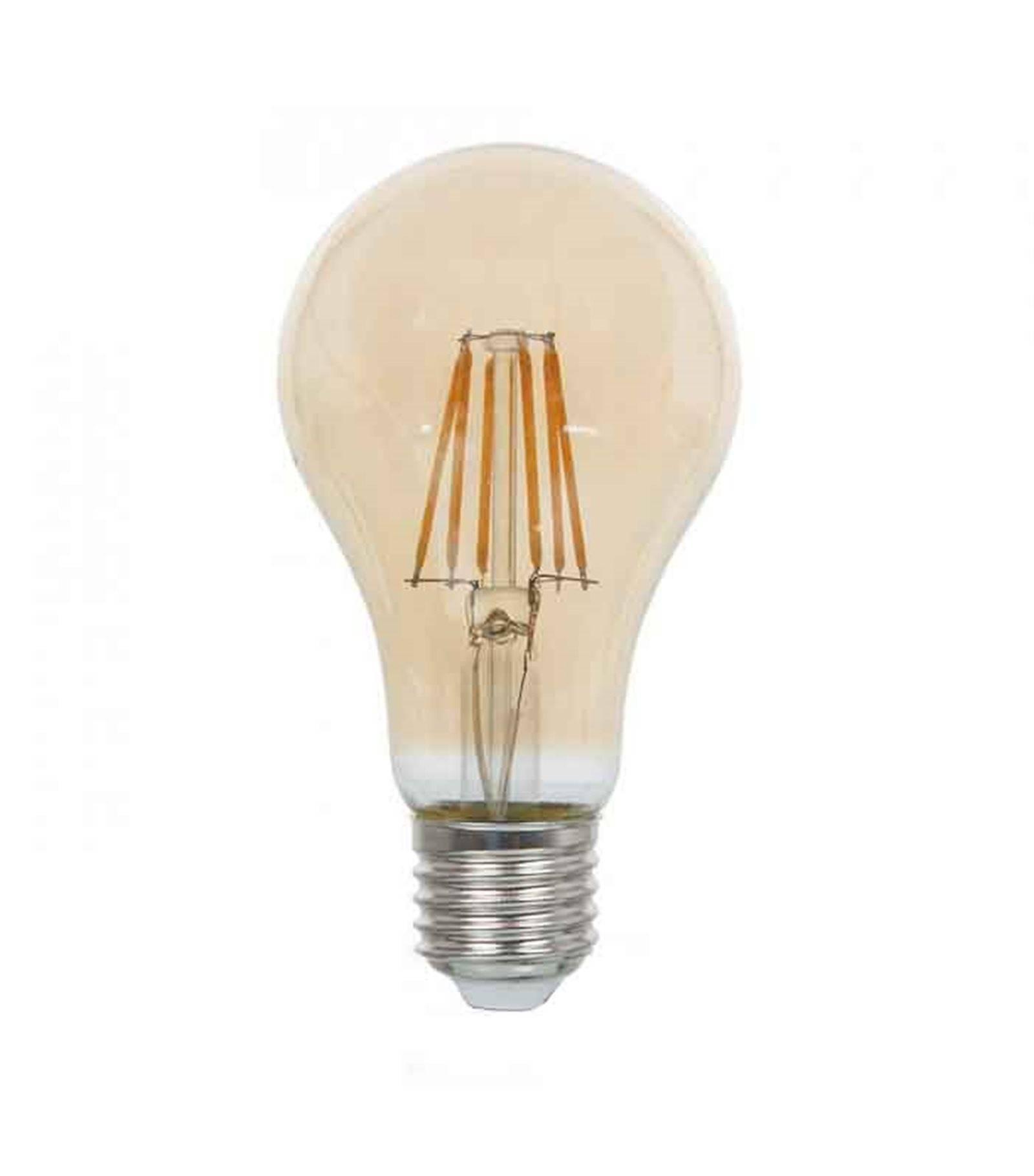V-TAC Ampoule LED E27 A67 Filament COG 8W 720Lm (équiv 60W) Blanc très chaud 300° IP20 V-TAC - 1958