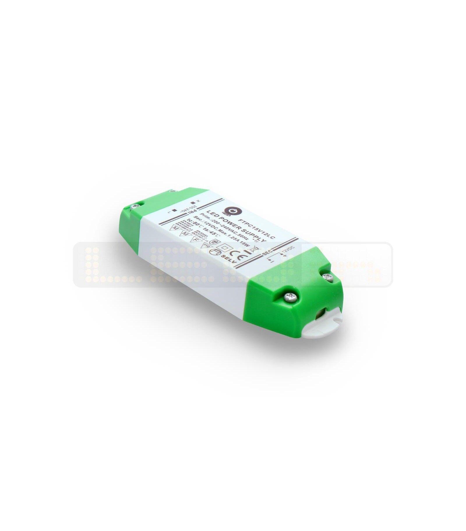 POS Transformateur spécial LED FTPC 12V de 15W - 245473