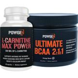 PowGen Pack Fitness   BCAA 2:1:1 + L-Carnitine Max Power   PowGen