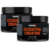 PowGen Créatine monohydrate essentielle   2X 150 g (5 g par portion)   Powgen