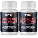 PowGen L-Carnitine 500 Max Power 1+1 OFFERT   2x 60 gélules - pour 2 mois   PowGen