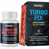 PowGen L-Carnitine - TurboFix OFFERT - drainage et combustion des graisses