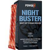 PowGen Night Buster   Brûleur de graisses agissant pendant la nuit   Programme de 10 jours   Saveur citron vert   10 sachets   PowGen