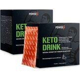 PowGen Keto Drink 2x   Avec poudre pure de MCT de noix de coco   PowGen