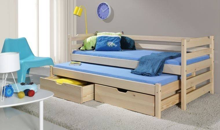 House and Garden LIT ENFANT EN BOIS MASSIF NATUREL - DANY