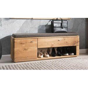 House and Garden Banc meuble chaussure chêne massif 1 tiroir et 1 porte - Braga - Publicité