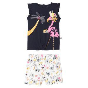 Petit Béguin Pyjama fille sans manches marine Miss Koko - Taille - 8 ans - Publicité