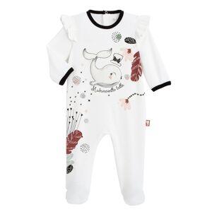 Petit Béguin Pyjama bébé en velours Bulle - Taille - 9 mois - Publicité