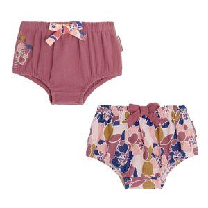 Petit Béguin Lot de 2 culottes bébé fille Dolce Farniente - Taille - 12 mois - Publicité