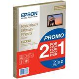 Epson papier jet d'encre 2x1 photo glossy premium a4 255gr 15 feuilles 2x1