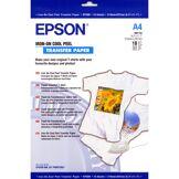 Epson papier jet d'encre transfer a4 124gr 10 feuilles