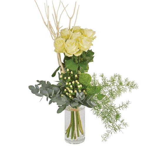 Interflora Colombe : bouquet aér...