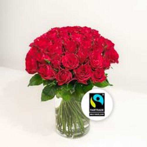 Interflora Brassée de roses roug...