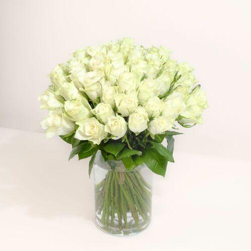 Interflora Brassée de roses blan...