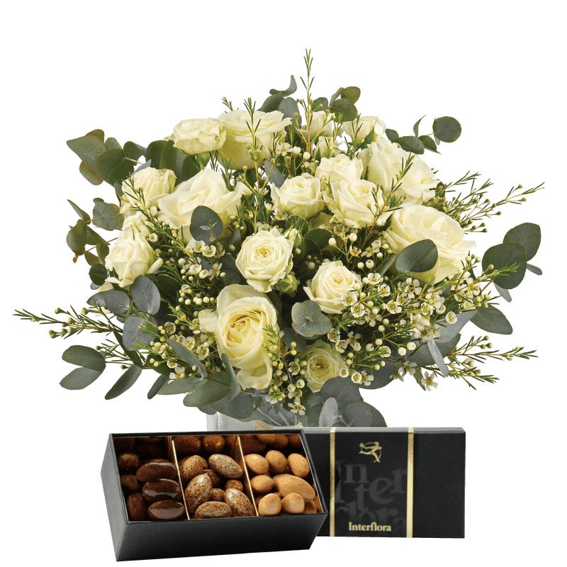Interflora Fleurs et Chocolats - Livraison Express en 4H - Idée Cadeau Anniversaire