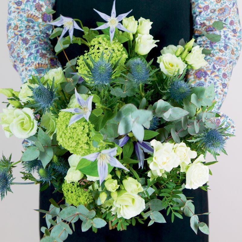 Interflora Livraison Fleurs Interflora : Bouquet du Fleuriste Blanc