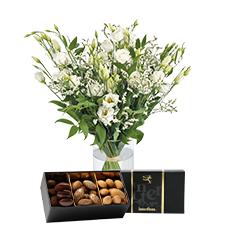 Interflora Plumetis et ses amandes au chocolat