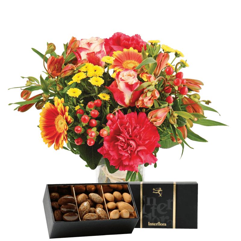 Interflora - Livraison Bouquet de Fleurs et Chocolats - Idée Cadeau Anniversaire
