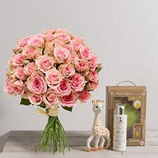 Interflora Bébé douceur Sophie la girafe
