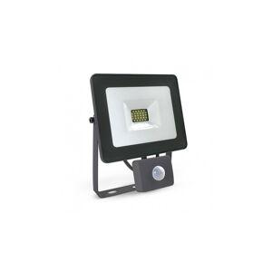 VISION EL Projecteur extérieur LED plat 20W 6000°K avec détecteur - Gris - Publicité