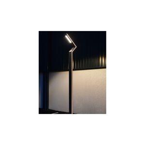 VISION EL Lampadaire éclairage public voie piéton LED 50W 4000°K 3m - Gris Anthracite - Publicité
