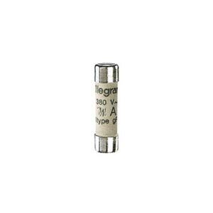 LEGRAND Cartouche industrielle cylindrique 8x32mm 12A sans voyant - type gG - Publicité