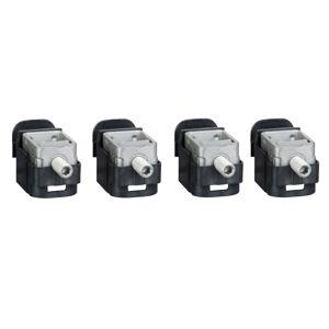 SCHNEIDER Bornes acier - pour câbles 1.5..95mm² - Lot de 4 - pour NSX100-250 INV/INS - Publicité