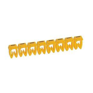 LEGRAND Repère CAB 3 pour filerie 1,5m² à 2,5mm² - Lettre I - Emballage : 300 - Publicité