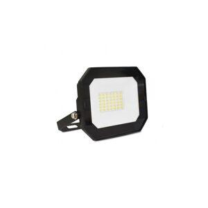 VISION EL Projecteur extérieur LED sans câble 30W 4000°K - Plat - Noir - Publicité
