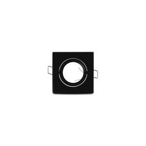 VISION EL Support plafond carré orientable noir 83x83mm - Publicité
