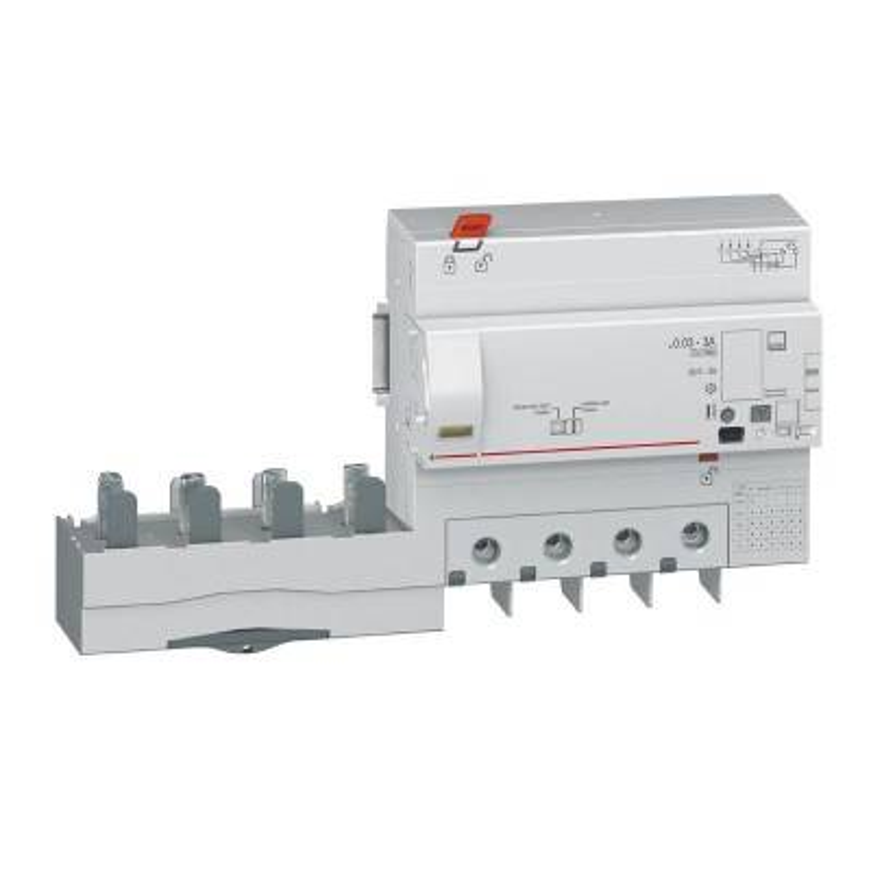 LEGRAND Bloc différentiel adaptable DX3 4P 400V~ - 125A avec compteur d'énergie - pour disj 1,5 module/pôle