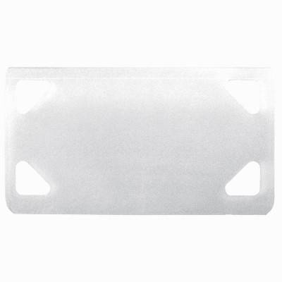 LEGRAND Plaque d'identification blanche Colring 38,5x19mm pour colliers largeur 4,6mm max - LEGRAND 032085