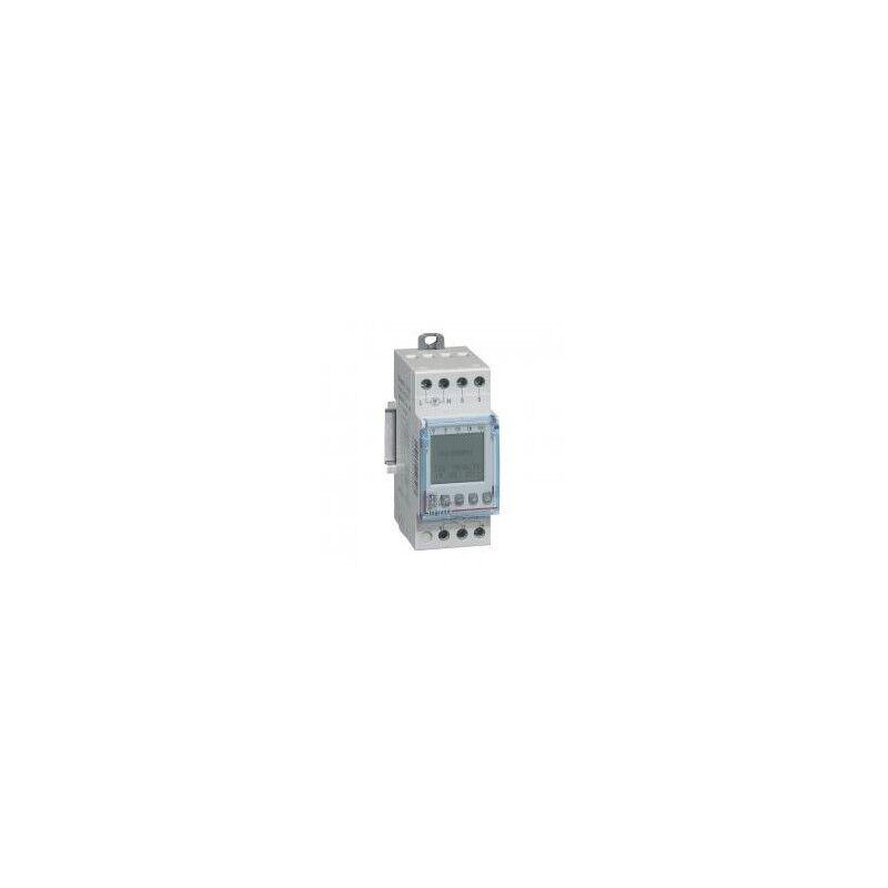 LEGRAND Interrupteur crépusculaire modulaire programmable IP65 - sortie 16A 250V livré avec cellule photoélectrique - 2 modules