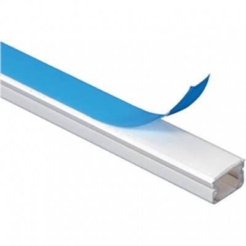 LEGRAND Guide-câbles blanc 1 câble pour câbles Ø7mm et Ø9mm - longueur 2,1m