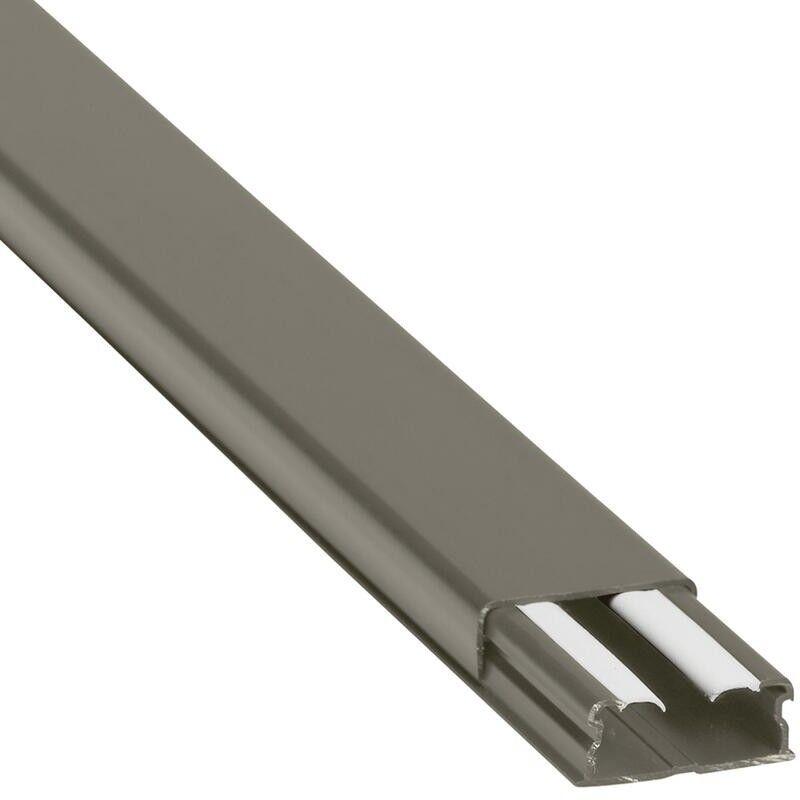 LEGRAND Guide-câbles marron 32x12,5mm grande capacité 1 compartiment - longueur 2,1m
