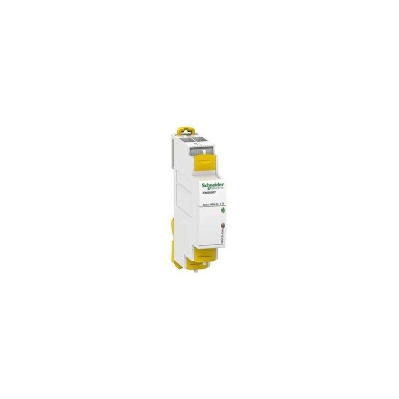 SCHNEIDER Compteur d'énergie mono - 40A - impulsions - sans afficheur - Acti9 iEM