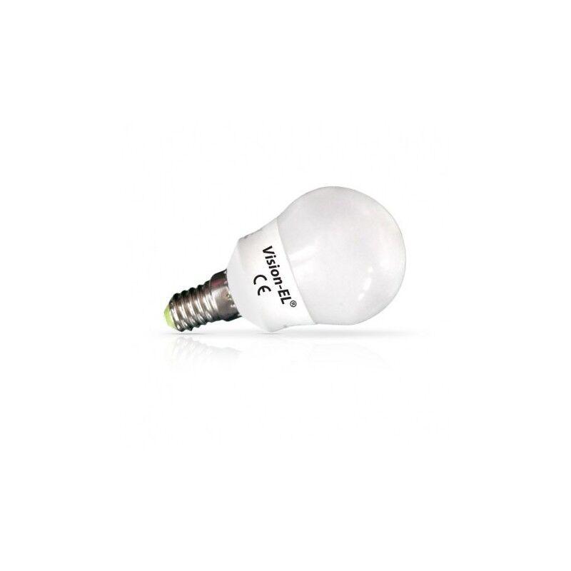 VISION EL Ampoule LED E14 Bulb P45 6W 3000°K - Blister de 3