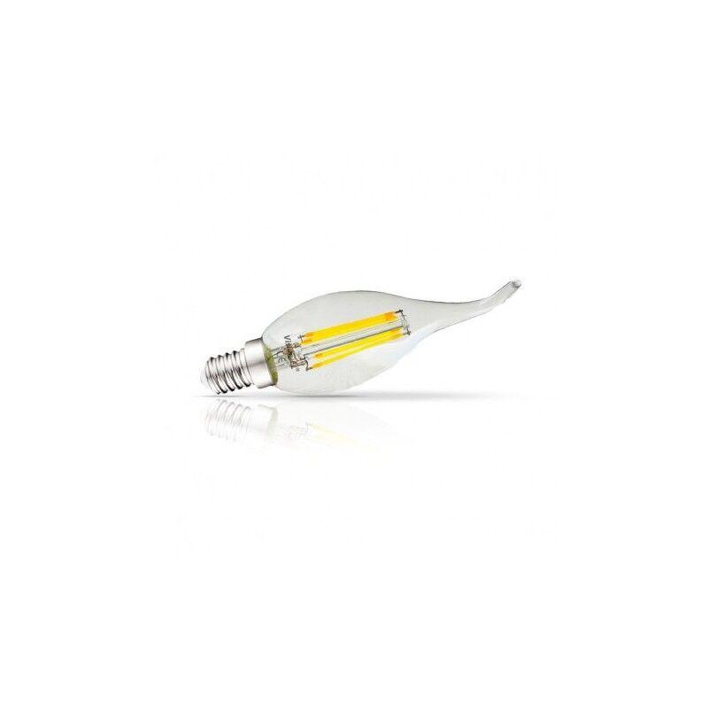 VISION EL Ampoule LED E14 filament coup de vent 4W 2700°K - Blister de 3