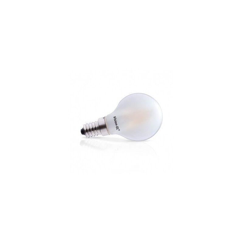 VISION EL Ampoule LED E14 Filament Bulb Dépoli 4W 2700°K