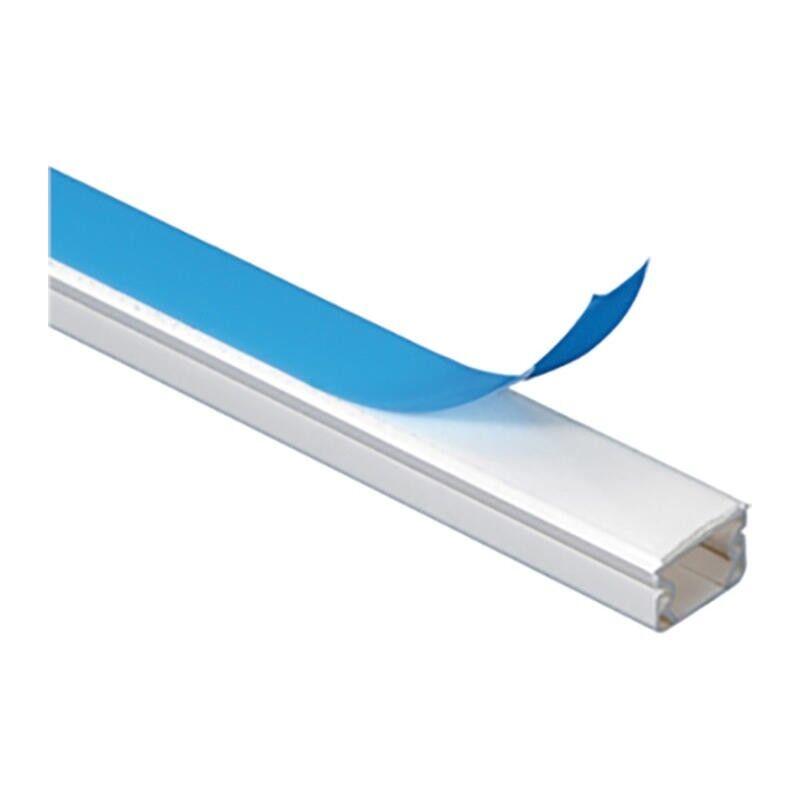 LEGRAND Guide-câbles blanc 1 câble pour câbles Ø3mm à Ø6mm - longueur 2,1m