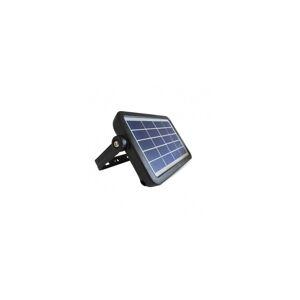 VISION EL Projecteur extérieur LED solaire - 5W 4000°K - Noir - Publicité